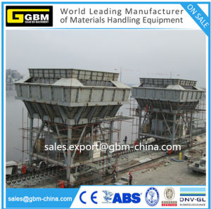 Gbm Electric Port Movable Dedusting Hopper to Cement Unloader pictures & photos