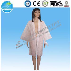Disposable Nonwoven Kimono Robes pictures & photos
