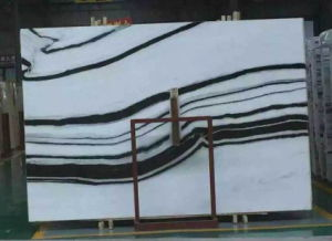 Panda White Marble Slabs for Tiles/Countertop/Vanity Top/Wall Tiles/Interior Decoration pictures & photos
