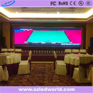 P6 Indoor Full Color Fixed LED Advertising Display Screen Board pictures & photos