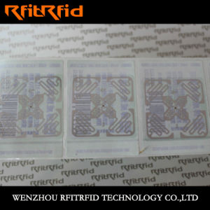 Whole Aluminum Etching RFID Clothing RFID Sticker