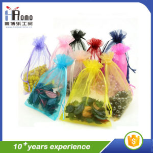 Drawstring Organza Gift Bags Wholesale pictures & photos