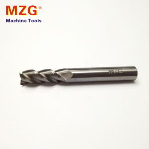 Three Edge Tungstan End Mill Milling for Aluminum Processing pictures & photos