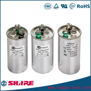 45UF AC Dual Capacitor for Motor Run Cbb65 Capacitor Oil Capacitor pictures & photos