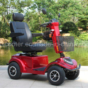 2017 Hot Sell 4 Wheel Scooter Power Wheel Chair Cabin Handicapped Mobility Scooter pictures & photos