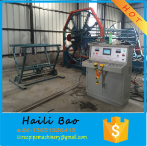 Concrete Spun Pipe Wire Mesh Cage Welding Machine pictures & photos