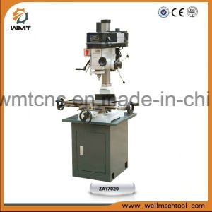 Belt Head Round Column Milling and Drilling Machinery Zay7020 with belt driven pictures & photos