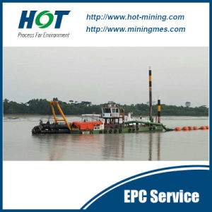 2017 New 3500m3/H Hydraulic Cutter Suction Dredger pictures & photos