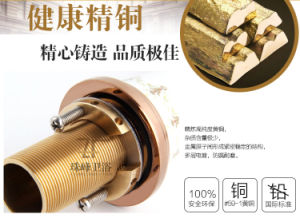 New Design Chinese Ceramic Three-Hole Basin Faucet (Zf-607) pictures & photos