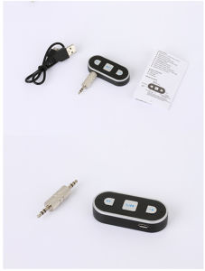 3.5mm Streaming Car A2dp Aux Audio Music Receiver Wireless USB Bluetooth Adapter Bluetooth Dongle with Microphone pictures & photos