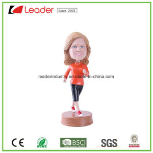 Hand Painted Resin Bobblehead Figurine with Customized for Home Decoration and Promotional Gifts, Made of Eco-Friendly Material pictures & photos