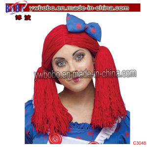 Novelty Party Supplies Afro Wig Clown Hallowen Carnival (C3048) pictures & photos