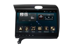 New Ui Android 6.0 System Car Navigation GPS for KIA K3 2016 with Car DVD Player