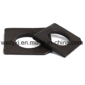 Black Carbon Steel Square Washer pictures & photos