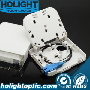 Indoor Fiber Optic 2 Core and 4 Core Face Plate pictures & photos