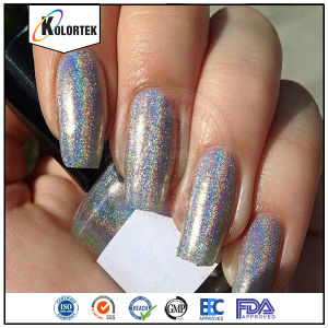 Silver Holo Pigments, Cosmetic Grade Holographic Pigment Supplier pictures & photos