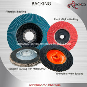 China Supplier Sharpness T27 115mm Grit 40 Zirconia Flap Disc for Stainless Steel Polishing pictures & photos