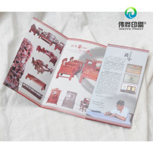 Offset Printing Promotional Furniture Products Folded Flyers pictures & photos