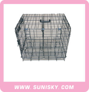 Large Size Dog Metal Cage/ Luxury Wire Cage pictures & photos