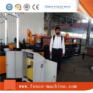 Full Automatic Chain Link Fence Machine pictures & photos