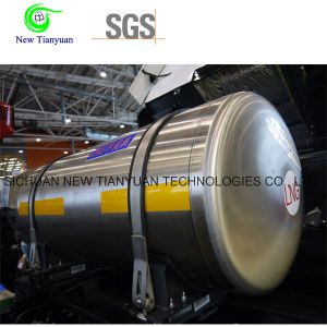 2.0MPa Working Pressure 210L Volume Cryogenic Insulation Vehicle Cylinder pictures & photos