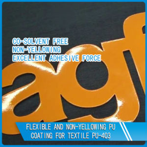 High Solid Water Based PU Resin for Pigment Printing pictures & photos