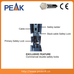 Commercial Double Safety Locks Four Post Auto Parking Lifter (408-P) pictures & photos