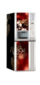 F306-Dx Hot and Cold Coffee Vending Machine with Cup Dispenser pictures & photos