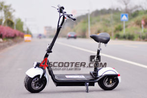 2017 New Model Electric Scooter Big & Wide Tubeless Wheels pictures & photos