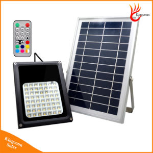 Outdoor 56LED Multi-Function RGB Solar Flood Light with Remote Control pictures & photos