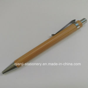 High Quality Gift Bamboo Ball Pen (E2001A) pictures & photos