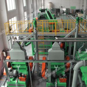 Turnkey Waste Tire Recycling Line Producing 1-5mm Rubber Crumb pictures & photos