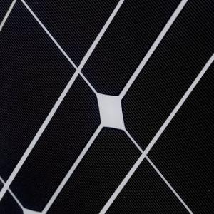 Solar Panel 100W Monocrystalline Silicon 18V Top Quality pictures & photos