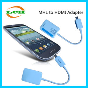 High Quality Mhl to HDMI Hub Adapter for Samsung Galaxy pictures & photos