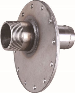 OEM Big Flange Foring Drilling Hole Metal Welding pictures & photos