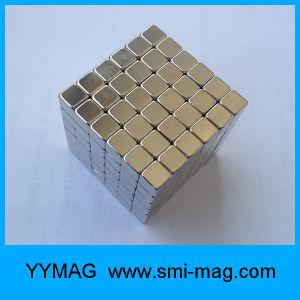 Neodymium Gold Sliver 5X5X5mm Magic Magnet Cube pictures & photos