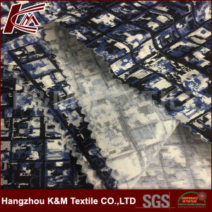 Heavy Elastic Customized Printed Silk Cotton Satin Fabric for Garment pictures & photos
