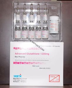 Skin Whitening 1200mg Lyophilized Glutathione Powder for Injection pictures & photos