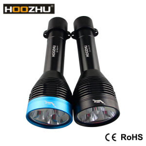 Hoozhu D30 Professional Waterproof LED Lights for Diving Max 3000lm & Waterproof 100m pictures & photos