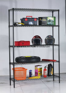 Powder Coating Metal Garage Wire Storage Shelving Rack (CJ12035180A5E) pictures & photos