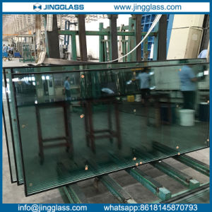Double Sivler Low E Coating on Bent Double Glazing Glass pictures & photos