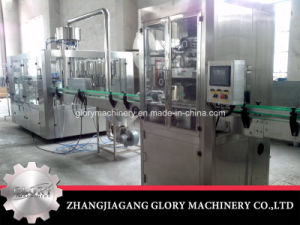 Automatic Beverage Filling Bottling Machine with Packaging and Labler pictures & photos