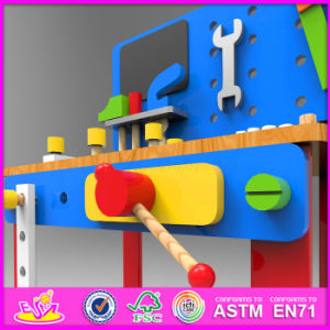 2016 New Design Wooden Kids Workbench W03D076c pictures & photos