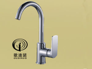 Brass Single Handle Kitchen Faucet & Kitchen Mixer Odn-69119-1 pictures & photos