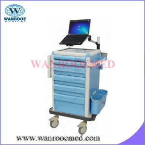 Medication Cart a with Foldable Worksurface pictures & photos