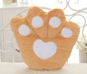 Wholesale OEM Seat Cushion Children Toy Colorful Bear Paw Pillow pictures & photos