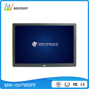 """Android 3G 4G WiFi Wireless LCD 15 Inch Digital Photo Frame Display """"4: 3"""" HDMI pictures & photos"""