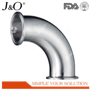 Sanitary Stainless Steel Tube Pipe Fittings 90 Degree Clamp Elbow pictures & photos