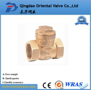 "1-1/2"" Inch Durable Professional Competitive Price Ball Type Brass Spring Check Valve pictures & photos"