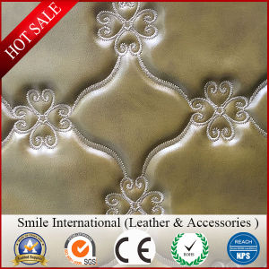 Fake Skin for Sofa and Car Seat PVC Leather New Design pictures & photos